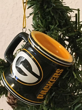 Packers Mini Mug Ornament
