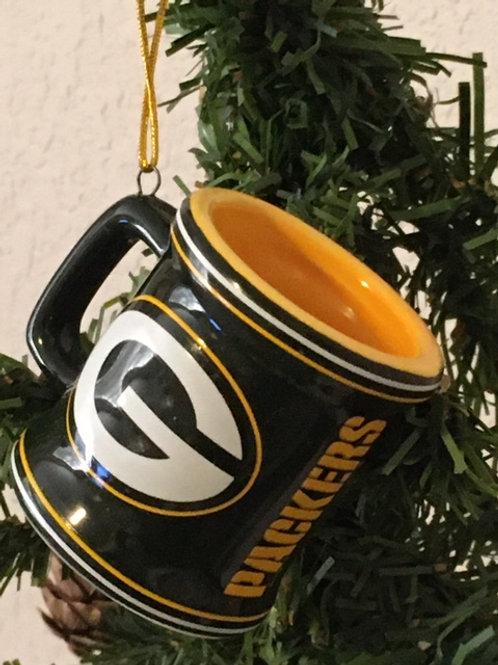 Packers Mini Mug Ornament