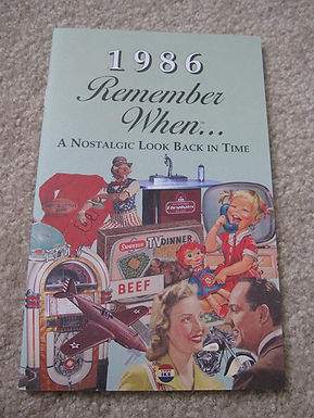 1986 Remember When Kardlet
