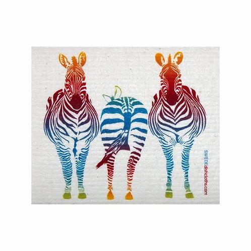 Zebra ....... Swedish Dishcloth