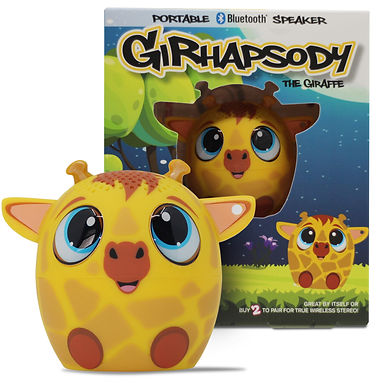 Girhapsody Giraffe Bluetooth Speaker