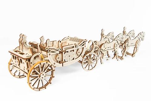 Ugears Royal Carriage ........ Wood Model Kit