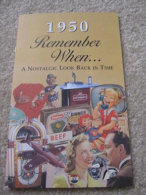 1950 Remember When Kardlet