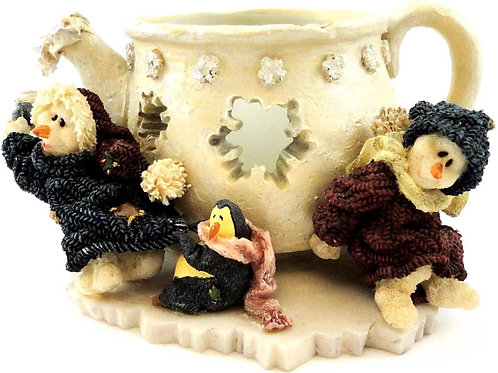 Cicely and Juneau ..... Iced Tea Party     {Figurine/VotiveCandle Holder}