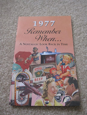 1977 Remember When Kardlet
