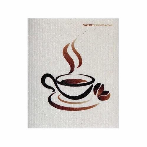 Coffee Cup .......... Swedish Dishcloth