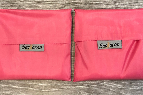 Pink Sacaroo Reusable Bags Set of 2