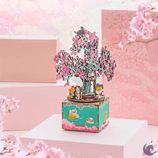 Cherry Blossom Music Box