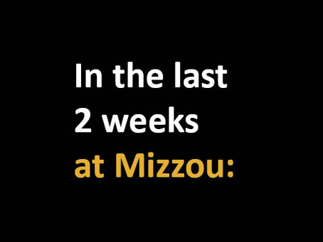ICYMI, it's been a great 14 days to be a Missouri Tiger
