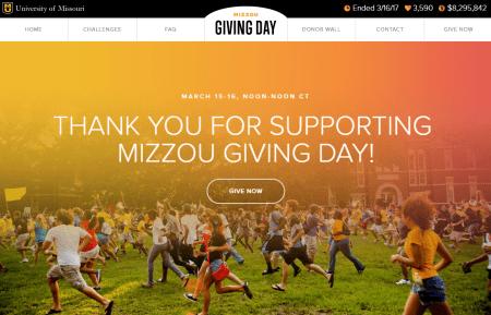 What Mizzou Giving Day Meant to Mizzou