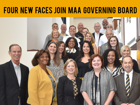 Four New Faces Join MAA Governing Board 2018-2019
