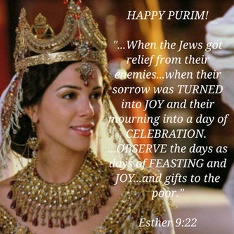 March 10, 2020: PURIM