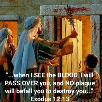 April 9, 2020: PASSOVER -The BLOOD OF THE LAMB