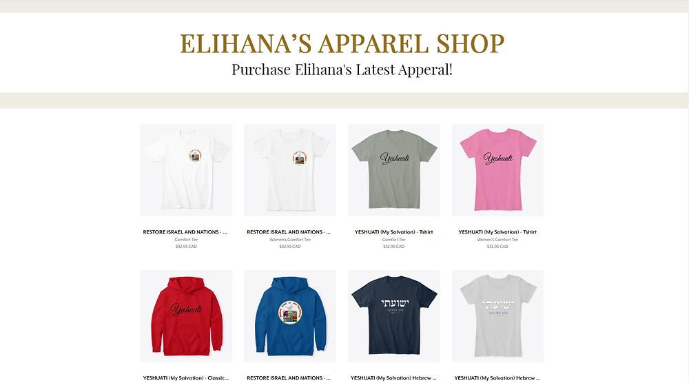 Elihana's New Apparel Shop