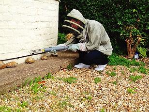 wasp nest air brick, mini dust stick R