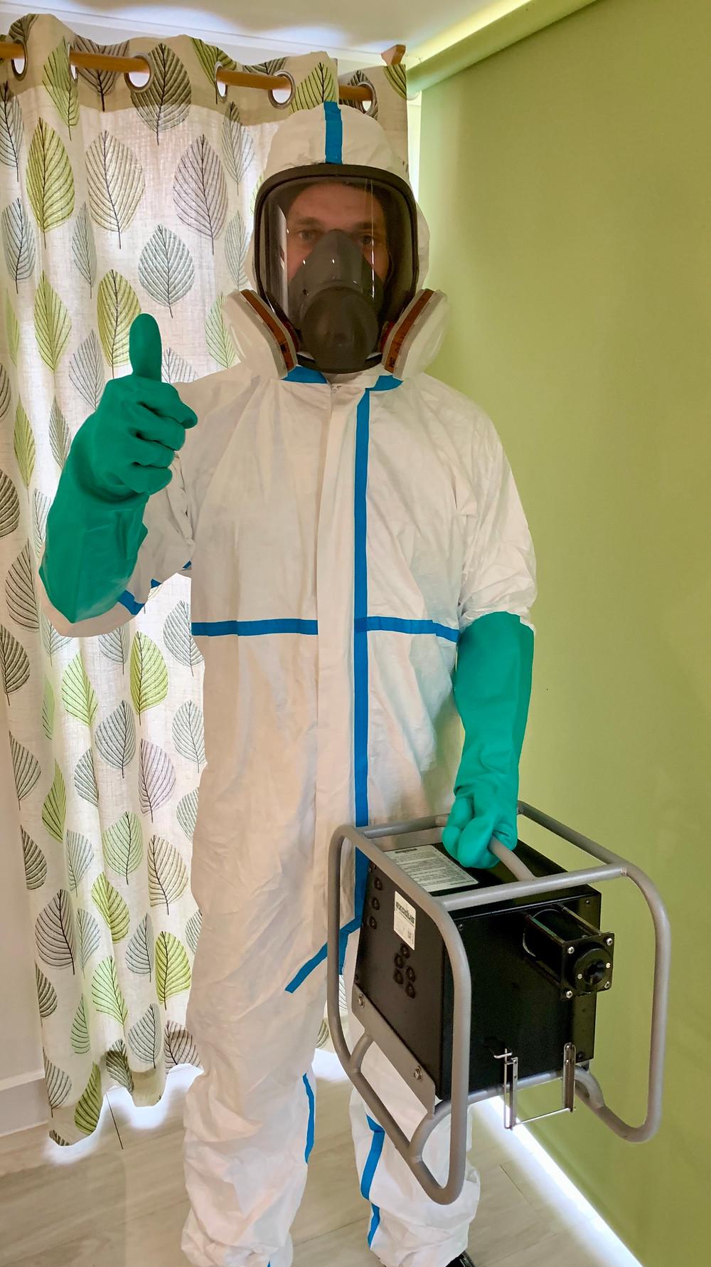 Coronavirus Contamination Pure Pest Solutions