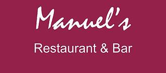Manuel's restaurant and bar best in dulwich london, logo
