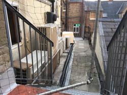 Vandalised bird netting to be repaired