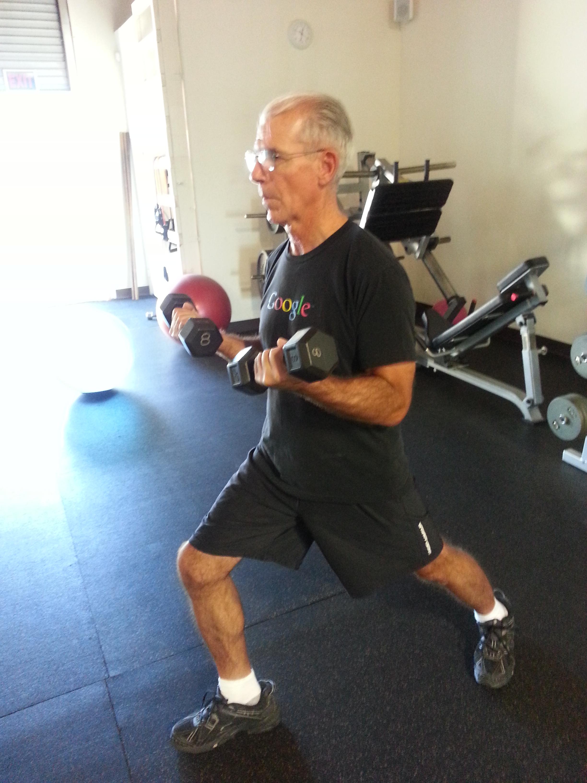 Weight lifting at work