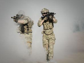 총을 가진 군인