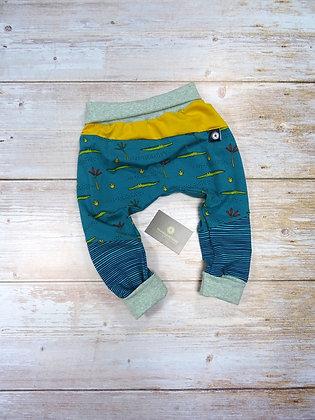 Sarouel bébé croco patchwork