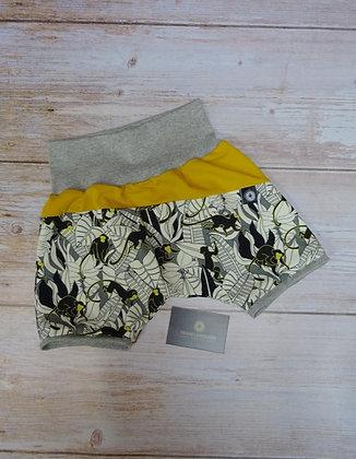 Short bébé singe jaune