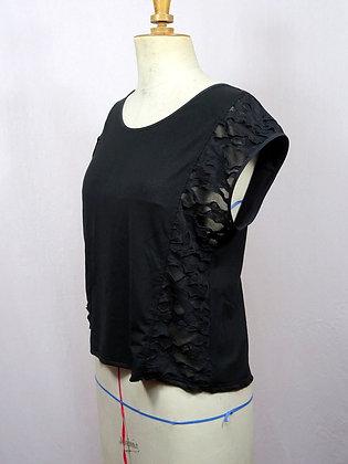 T-shirt Cherokee noir