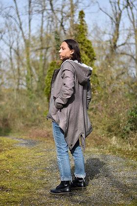 Manteau queue de pie marron