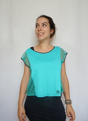 T-shirt Cherokee vert