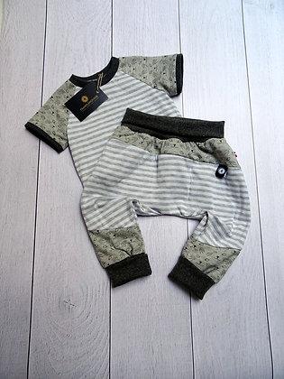 Ensemble bébé patchwork chat phospho 18 mois
