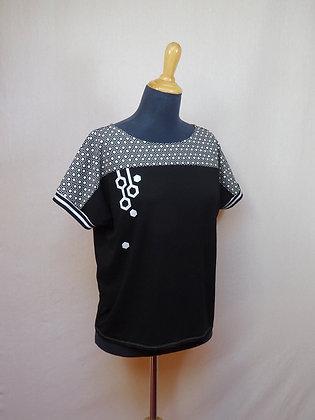 T-shirt femme hexagone