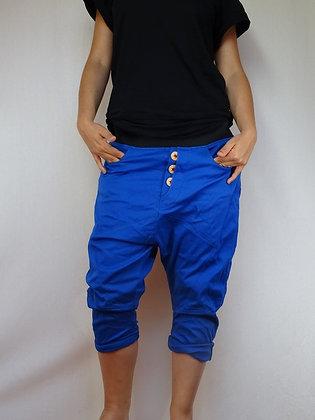 Sarouel bleu électrique