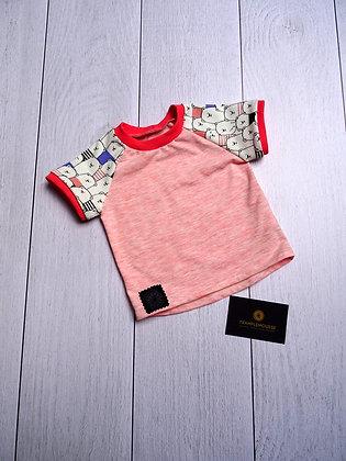 T-shirt bébé Ours rose
