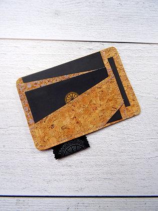 Porte-carte Asanoha lila