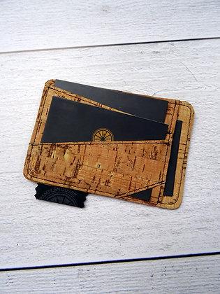 """Porte-carte liège """"rayé"""""""