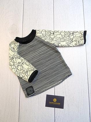 T-shirt bébé lama beige