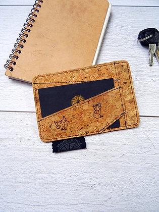Porte-carte renard origami