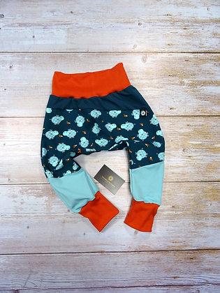 Sarouel bébé popotames patchwork