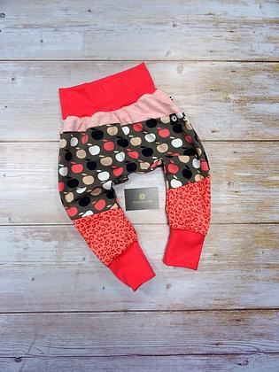 Sarouel bébé popommes patchwork