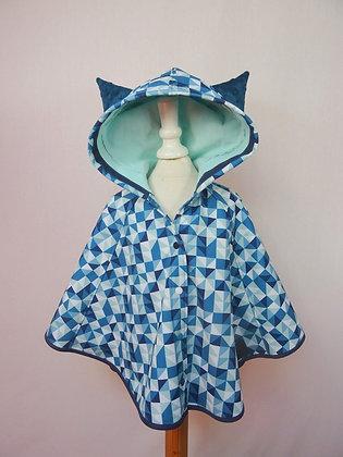 Cape de pluie petit chat