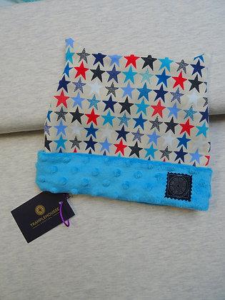 Bonnet enfant étoiles multicolores