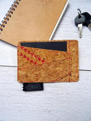 Porte-carte flamant rouge