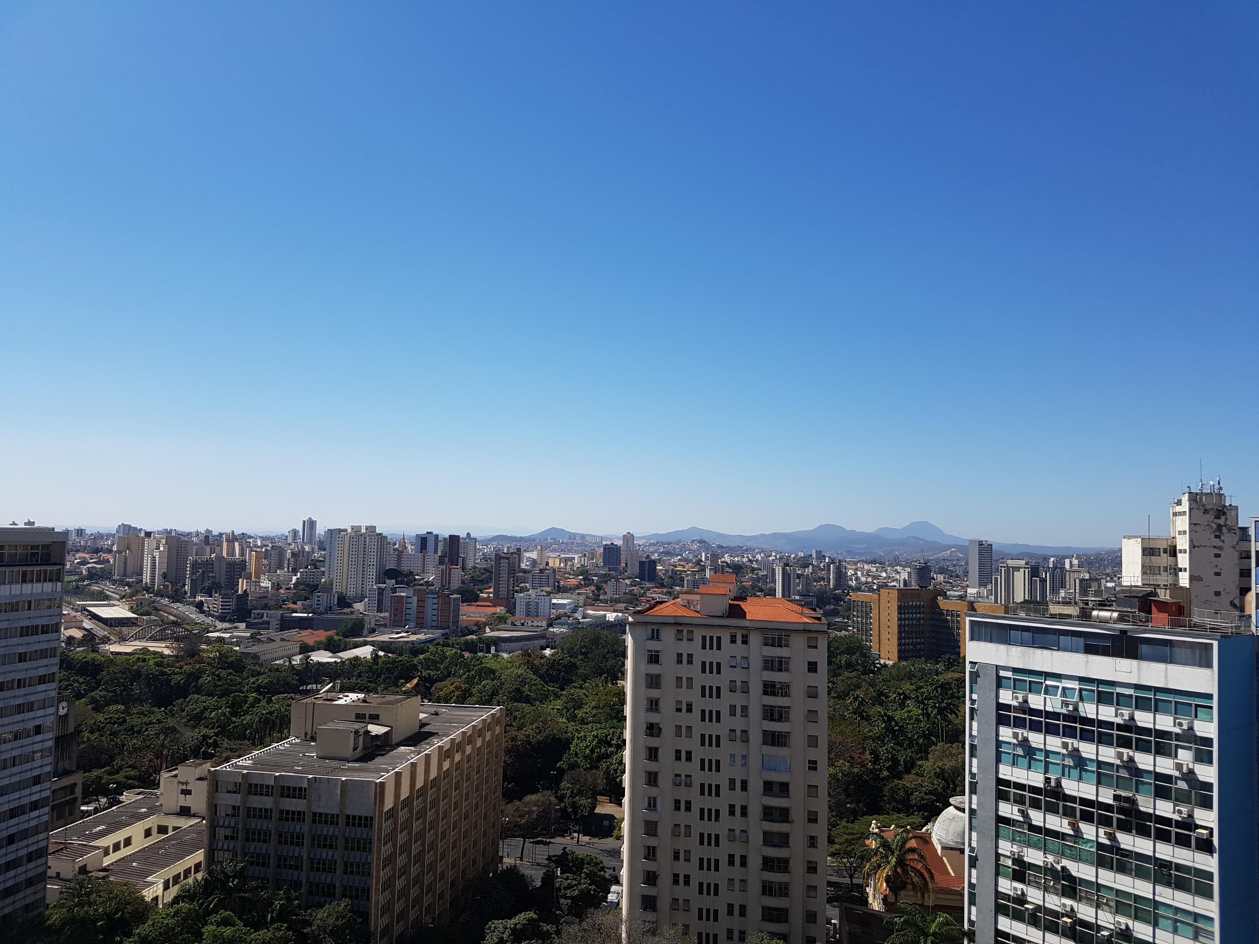 Vista do terraço da FDUFMG