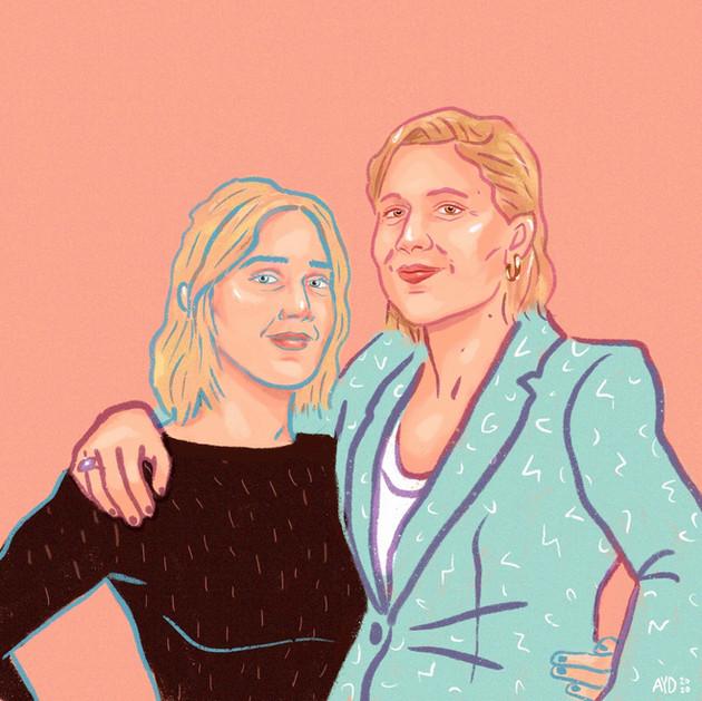 Greta + Saoirse