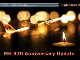 MH370 Anniversary Update