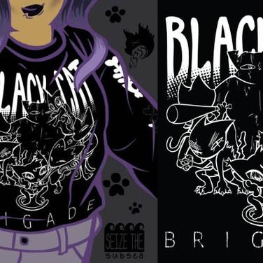 Black Cat Brigade - Shirt Design