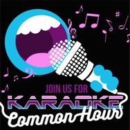 Karaoke Common Hour - Flyer