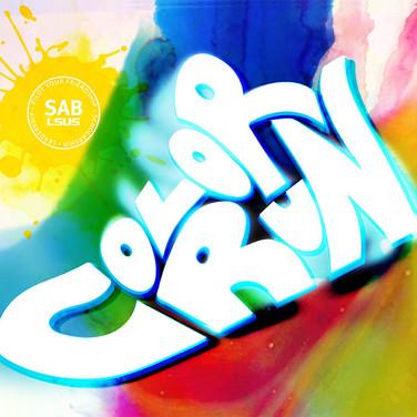 Color Run - Flyer Logo