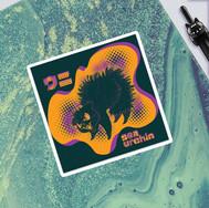 Sea Urchin - Sticker Design