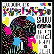 LSUS Digital Arts Portfolio Show Invitation